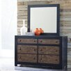 Signature Design by Ashley Emerfield 6 Drawer Dresser with Mirror