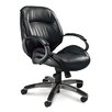Mayline Group Series 100 Mid-Back Leather Conference Chair