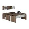 Mayline Group Medina 7-Piece U-Shape Desk Office Suite