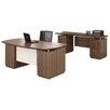 Mayline Group Sterling Credenza Desk with Pedestal