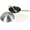 Swift Supreme Non-Stick Aluminum Wok Set with Lid