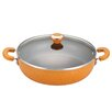 "Paula Deen Signature Porcelain Nonstick 12"" Skillet with Lid"
