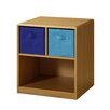 4D Concepts 2 Drawer Nightstand in Brown