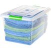 IRIS USA, Inc. 61 Quart Store and Slide Storage Box (Set of 6)