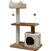 "IRIS USA, Inc. 35"" Carpeted Cat Tree"