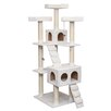 "IRIS USA, Inc. 72"" Carpeted Cat Tree"
