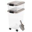 Iris Airtight Pet Food Storage Container Combo