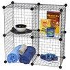 "IRIS USA, Inc. 14.25"" Cube Unit Bookcase (Set of 4)"
