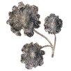 Endon Lighting Wanddekoration Flower aus Metall