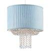 Endon Lighting 35,6 cm Lampenschirm aus Textil