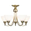 Endon Lighting Classical 5 Hial Light Style Chandelier