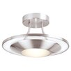 Endon Lighting 1 Light Semi-Flush Ceiling Light