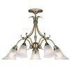 Endon Lighting 5 Light Classy Style Chandelier