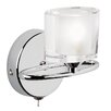 Endon Lighting Sonata 1 Light Semi-Flush Wall Light