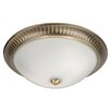 Endon Lighting 2 Light Flush Ceiling Light