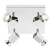 Endon Lighting 4 Light Ceiling Spotlight