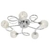Endon Lighting Aherne 5 Light Semi-Flush Ceiling Light