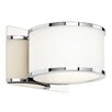 Endon Lighting 1 Light Semi-Flush Wall Light