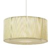 Endon Lighting Alex 1 Light Drum Pendant