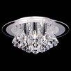 Endon Lighting 5 Light Semi-Flush Ceiling Light