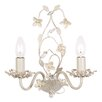 Endon Lighting Lullaby 2 Light Candle Wall Light