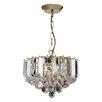 Endon Lighting 3 Light Classy Crystal Chandelier