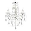 Endon Lighting Tabitha 3 Light Mini Chandelier