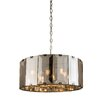 Endon Lighting Trommel-Pendelleuchte 8-flammig Clooney