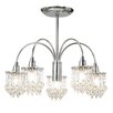 Endon Lighting 5 Light Mini Chandelier