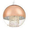 Endon Lighting 25 cm Glas Globe Lampenschirm