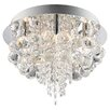 Endon Lighting 5 Light Semi-Flush Ceiling Light