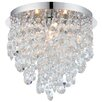 Endon Lighting 3 Light Semi-Flush Ceiling Light