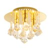Endon Lighting Renner 3 Light Semi-Flush Ceiling Light