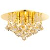 Endon Lighting Renner 5 Light Semi-Flush Ceiling Light