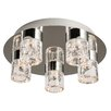 Endon Lighting Imperial 5 Light Semi-Flush Ceiling Light