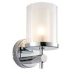 Endon Lighting Britton 1 Light Flush Wall Light