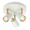 Endon Lighting Deckenleuchte 3-flammig Gull