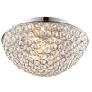 Endon Lighting Deckenleuchte 3-flammig Chryla