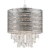 Endon Lighting 30cm Majestic Metal Drum Pendant Shade
