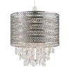 Endon Lighting 30 cm Lampenschirm Majestic aus Metall