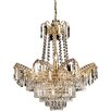 Endon Lighting 9 Light Crystal Chandelier