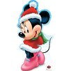 Advanced Graphics Minnie Mouse Holiday - Disney Cardboard Standup