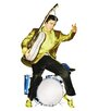 Advanced Graphics Elvis Presley in Drums Life-Size Cardboard Stand-Up