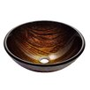 Kraus Titania Glass Vessel Bathroom Sink
