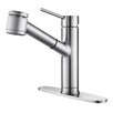 Kraus Mateo Pull Out Kitchen Faucet with Bar/Prep Faucet with Soap Dispenser