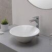 Kraus Elavo™ Ceramic Round Vessel Bathroom Sink