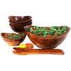Woodard & Charles 7 Piece Salad Bowl Set