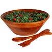 Woodard & Charles Salad with Style 3 Piece Medium Salad Bowl Set