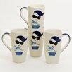 Woodard & Charles Meet the Ladies 14 oz. Latte Mug (Set of 4)