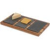 Woodard & Charles Elan Acacia Triple Slate Cheese Board